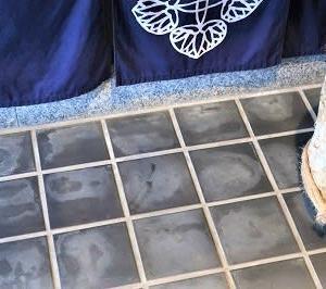 №1512 店舗床のクリーニング・・・!