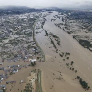 台風19号が残した多くの河川の決壊!!