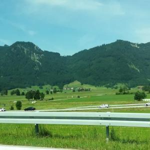 ミュンヘン滞在記  ミュンヘンからスイスのインターラーケンへ