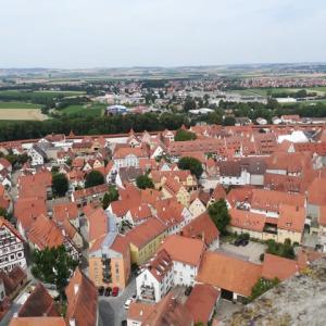 ミュンヘン滞在記  隕石の落ちた街ネルトリンゲン