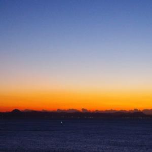 城ヶ島の朝陽