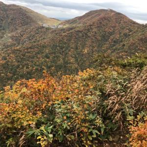谷川岳で紅葉を愛でる。その1 西黒尾根