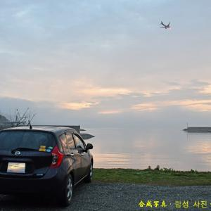 今朝は濃霧 200124