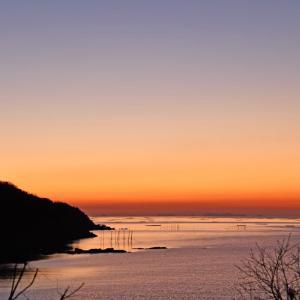 綺麗に達磨太陽(朝陽) 200224