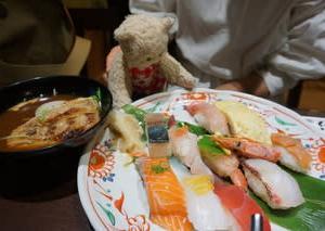 ミモロのおすすめランチ。790円で大満足の「すし定食」。梅小路京都西駅の「本家さんきゅう」