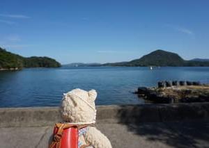 日帰りバスツアーで行く久美浜。海の見える丹後の花の寺「如意寺」へ。