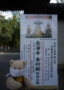 第56回京都非公開文化財「泉涌寺」の特別公開。「舎利殿」は10月31日まで、「悲田院」「戒光院」は11月1日まで
