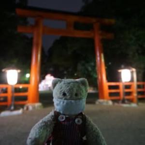 中秋の名月「下鴨神社」の「名月管絃祭」。残念ながら月はなく、雨が…