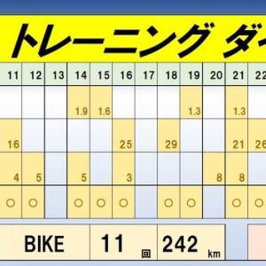 【RUN~月間走行距離=101km】