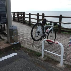 【鬼海ヶ浦折り返し:73km~疲れた!】