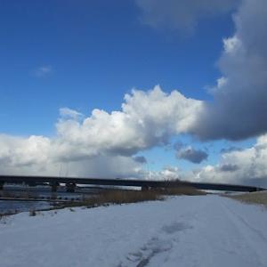 雪雲の表情