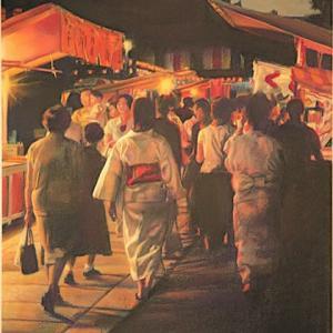 パステルでパステル画家のパステル画・お盆・甥はサントリーで死にました。
