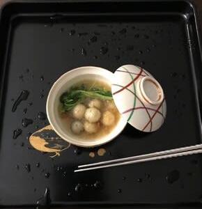 鎌倉野菜・うす紫の子茄子の煮おろし