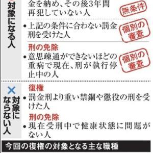 「『恩赦』より奨学金チャラの『徳政令』を」No.2456