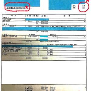 「安倍懇親会は5000円どころか13,127円也『値引き交渉には応じません』ホテルニューオオタニ」No.2688