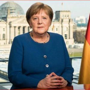 「感動*メルケル首相がウイルスについてドイツ国民に訴える言葉」No.3828