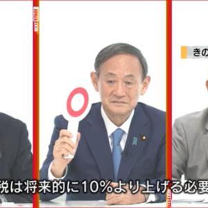 「菅官房長官が『消費税増税』ホンネ発言」No.3968