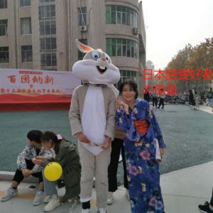 「中国の教え子から浴衣姿の写真が届いた」No.3996