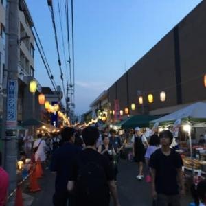 商店街の夏祭り