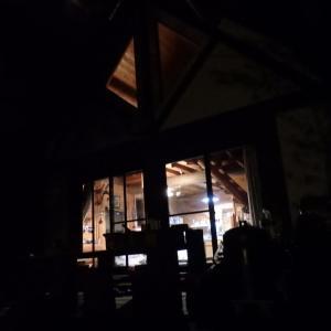 山荘での一夜