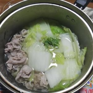 懐かしの柏崎鍋(一人飯)