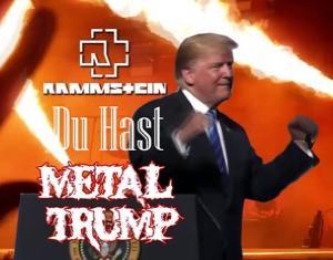 メタルトランプ「DU HAST」