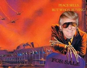 メタルトランプ「PEACE SELLS」