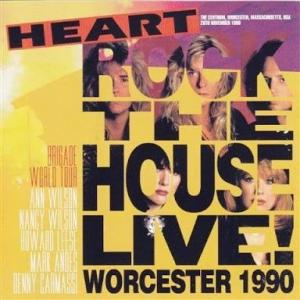 HEART『ROCK THE HOUSE LIVE! WORCESTER 1990』やっぱりハードロックのハートが好き!