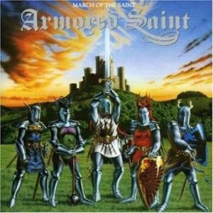 ARMORED SAINT『MARCH OF THE SAINT』は曲がなぁ~(⌒-⌒; )