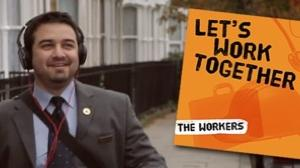 「LET'S WORK TOGETHER」THE WORKERS編誰だそりゃ?