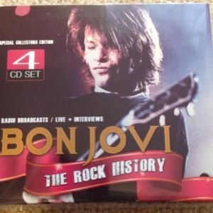 BON JOVI『THE ROCK HISTORY』そんな4枚組のブートの話