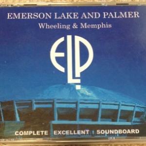 EL&P『WHEELING & MEMPHIS』オフィシャルなブートです