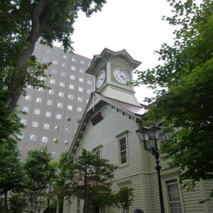 札幌時計台とジンギスカンと夜景