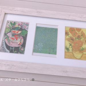 今月の絵のコーナー☆夏らしい絵の色の効果♪
