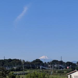 富士山初冠雪です〜😊