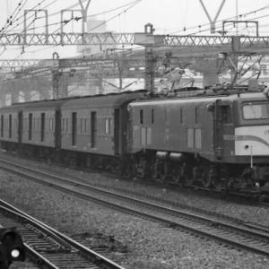 重連亡き後もひっそりと・・・EF58短絡荷物列車