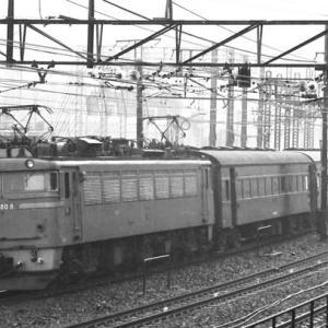 """客車列車""黄金時代~EF80"