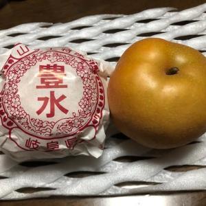 梨の品定め
