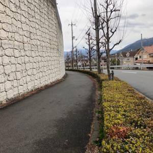 擁壁のある風景
