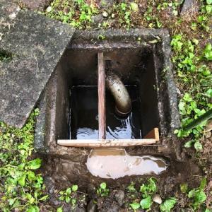 排水枡の修理