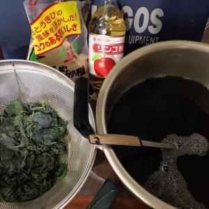 紫蘇ジュースを作ってみた