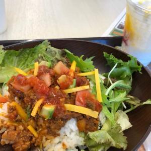 Taco rice and Parfait