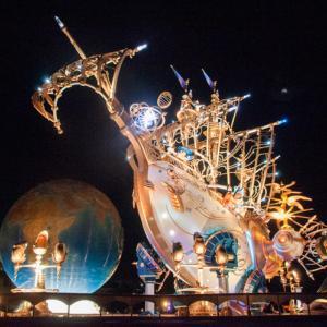 ハロウィンと15周年デコ夜のイルミネーション。これにて秋レポ最終〜。