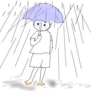 雨は嫌だね