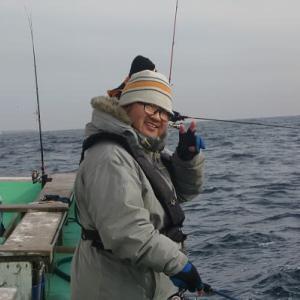 初釣り 鹿島のタイ