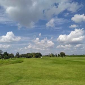 ゴルフ日和~明日から雨の予報