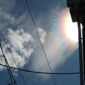 10月の彩雲