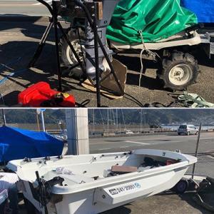 ランチャーを導入しミニボート移動手段が格段に楽になりました。