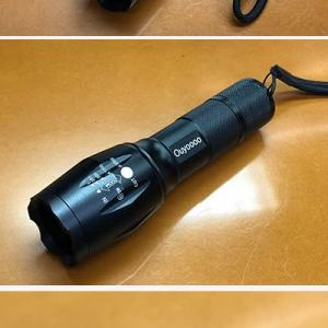 Amazonで購入したお気に入りの高性能・LED懐中電灯。