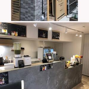 本郷3丁目の青果店が直営するフルーツショップ「KAJITSU本郷店」。